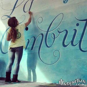 MasQueTiza 15a Rotulación a mano Pintura mural Decoración Colegio La Cumbrita Canarias Decoración Murales Rotulación a mano Tenerife