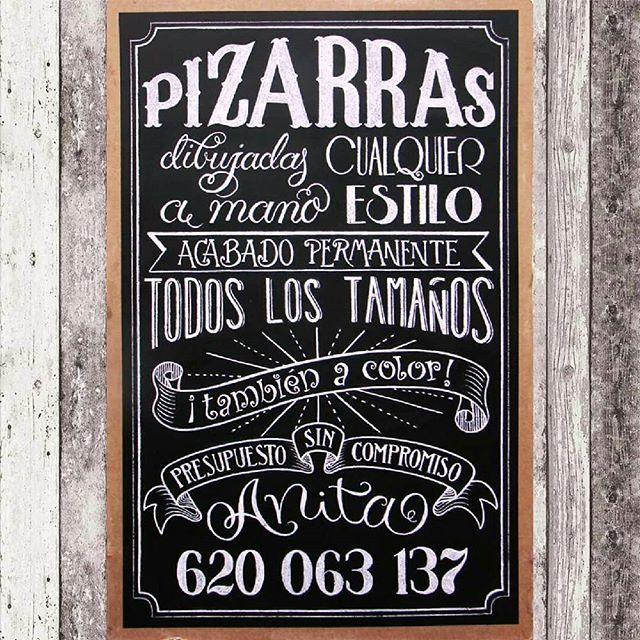 MasQueTiza 20 Pizarra Tarjeta de visita Contacto Canarias Pizarras Rotulación vintage Tenerife