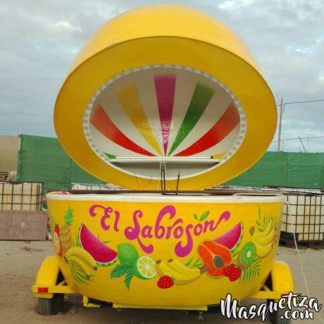 Pintura Mural - Lettering - Diseño decorativo - El Sabrosón - Tenerife - Masquetiza