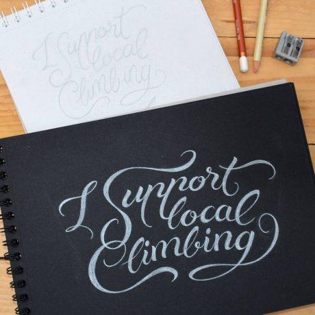 lettering - diseño camisetas - roxtar - masquetiza