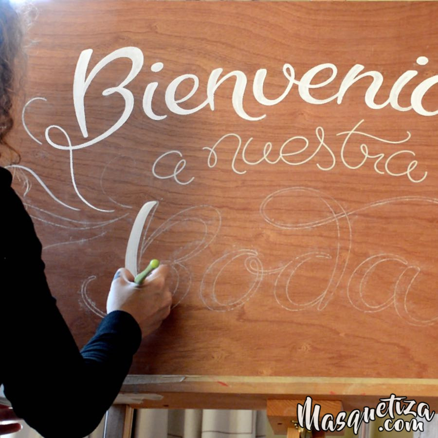 carteleria-bodas-vintage-lettering-rotulacion-a-mano-masquetiza-tenerife