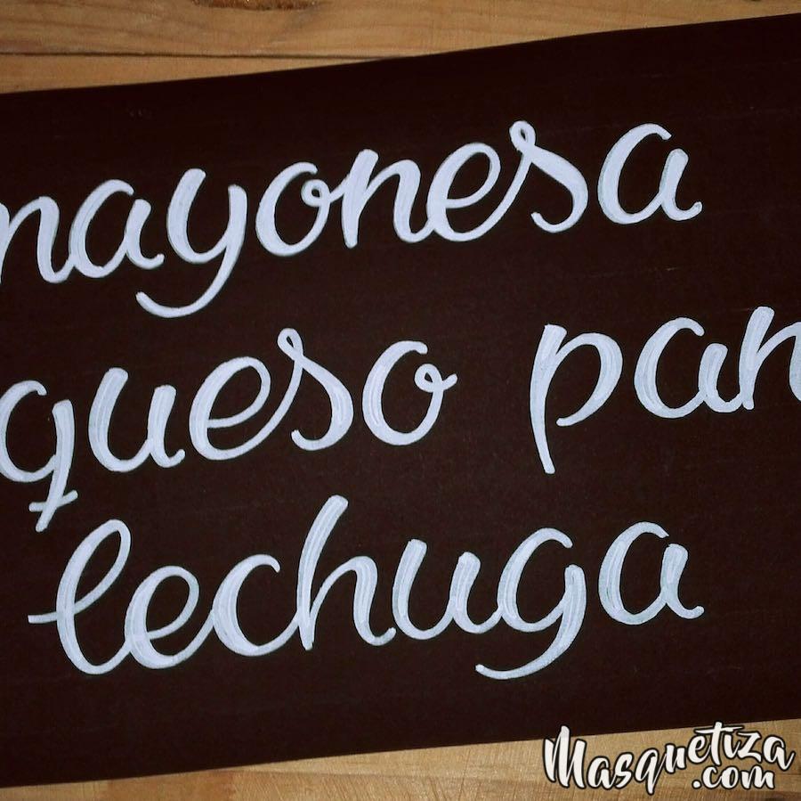 masquetiza-font-lettering-practice-blackboard-tenerife
