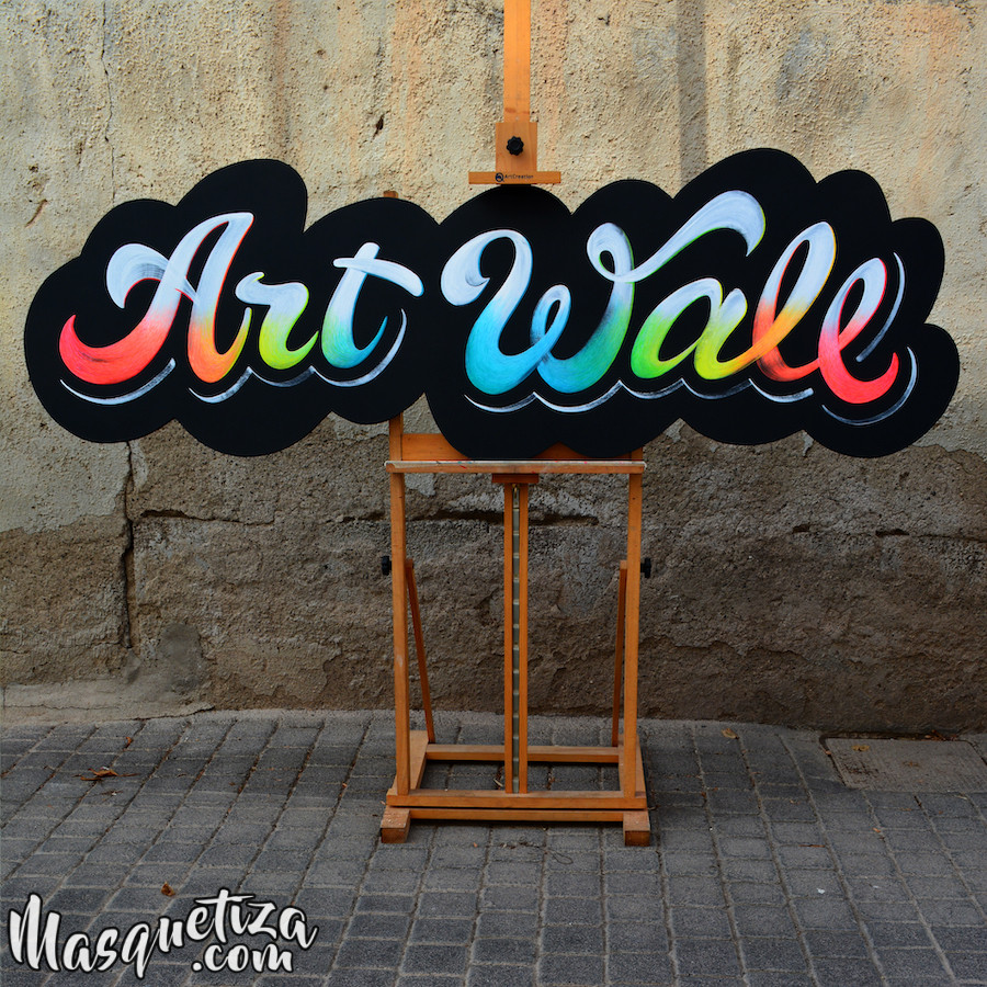 pizarras-fluor- lettering-carteles-de-madera-abama-masquetiza-2