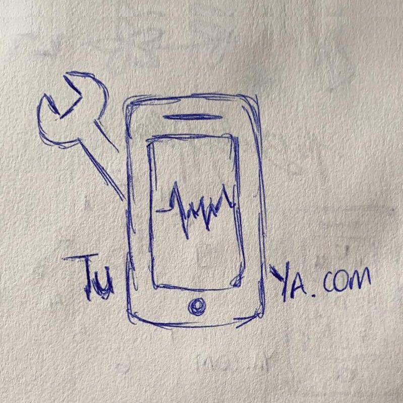 Boceto del Cliente Diseño Gráfico Logo Tumovilya.com Masquetiza Gran Canaria