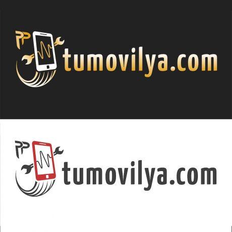Diseño Gráfico de Logo Tumovilya.com Gran Canaria