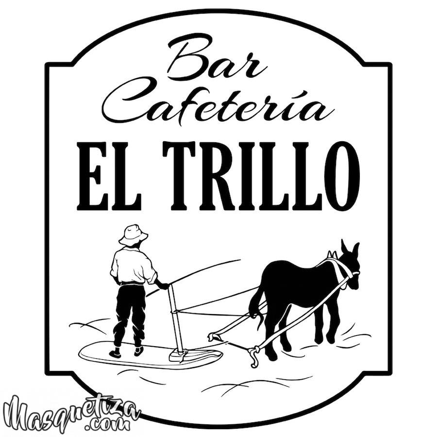 Diseño de Logo Vintage El Trillo Tenerife