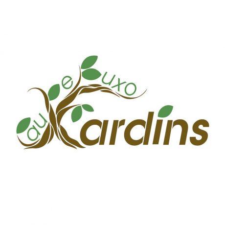 Diseño de Logo Xardins Pau de Buxo Palo de Boj