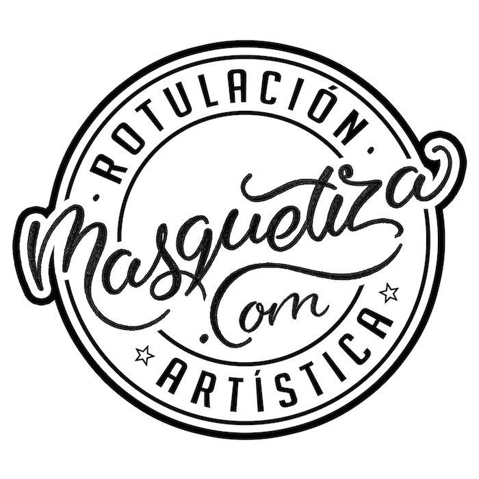 boceto-lettering-diseño-de-logo-vintage-masquetiza.com
